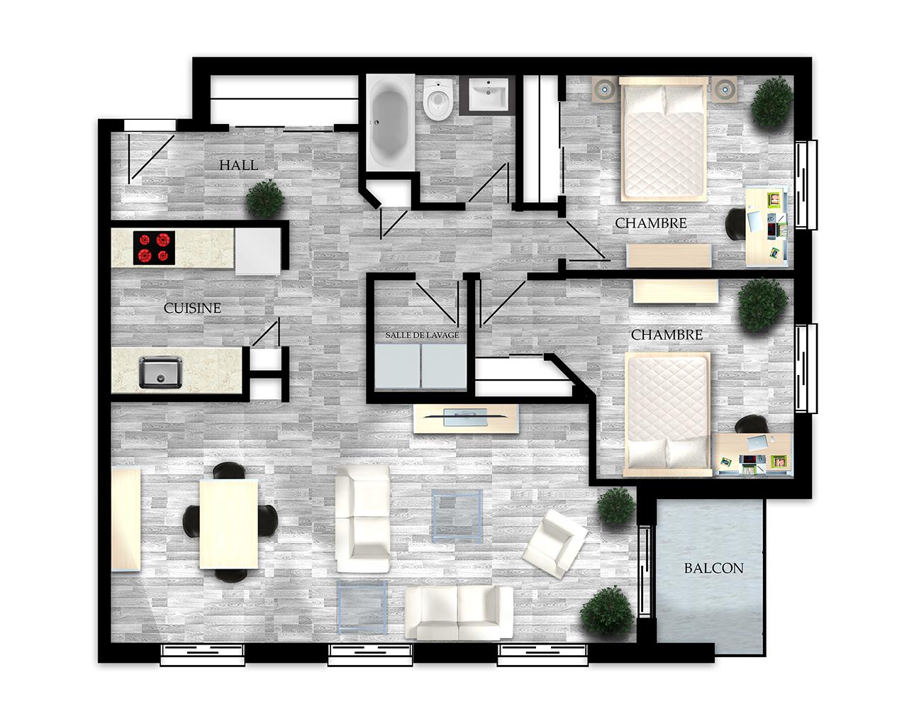 Appartement pour étudiant