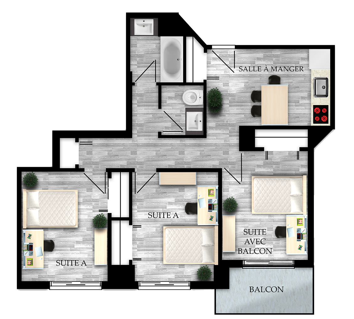 Luxury student homes